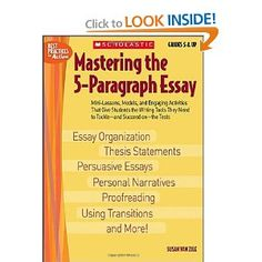 Topics For High School Essays Mastering The Paragraph Essay Best Practices In Action Susan Van Zile   Kids Writingcreative  Essay On Importance Of English Language also Yellow Wallpaper Analysis Essay  Best Teaching Writingessays Images  Writing Learning School Essay On Health Awareness