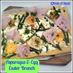 With A Blast::: Asparagus & Egg EASTER Brunch {ready in under 30 minutes!}