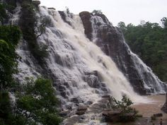 Tirathgarh Falls, Jagdalpur - India ~ @My Travel Manual