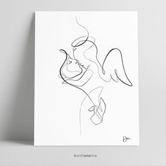 Baby Drawing, Line Drawing, Baby Angel Tattoo, Baby Loss Tattoo, Line Art Tattoos, Small Tattoos, Simbols Tattoo, Baby Memorial Tattoos, Infant Loss