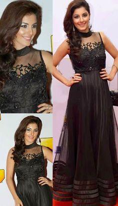 Shop Pakistani Indian Latest Black Nett #ChuridarKameezAnarkaliDresses Product code: KPW-31999 Price: INR 5569 (Unstitch Suit), Color: Black Shop Online now: http://www.efello.co/Salwar-Kameez_Pakistani-Indian-Latest-Black-Nett-Churidar-Kameez-Anarkali-Dresses,-Dress_1854