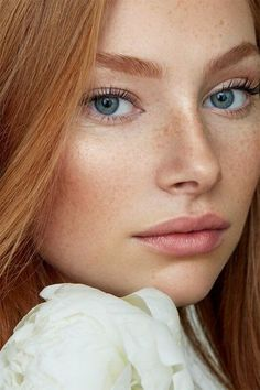 Burgundy Brown - 40 Red Hair Color Ideas – Bright and Light Red, Amber Waves, Ginger Hair Color - The Trending Hairstyle Beautiful Freckles, Beautiful Red Hair, Gorgeous Redhead, Beautiful Eyes, Ginger Hair Color, Red Hair Color, Ginger Hair Girl, Red Hair Woman, Woman Face