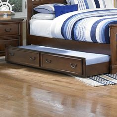 Darby Home Co Clarktown Trundle