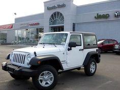 2014 white jeep wrangler sport 2 door hardtop | 2014 Jeep Wrangler Sport!NEW!4X4!HARDTOP!A/C!CD/MP3 PLAYER!MUST SEE ...