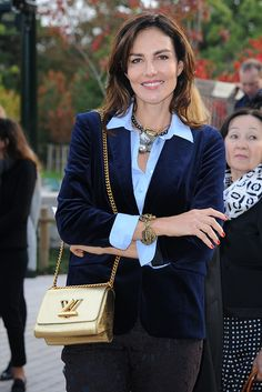 Adriana Abascal with the Louis Vuitton Twist Bag