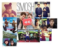 """""""Smosh"""" by rockandroll1254 ❤ liked on Polyvore featuring art"""