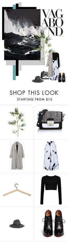 """dark side"" by izoche ❤ liked on Polyvore featuring Pier 1 Imports, Karl Lagerfeld, Zara, TIBI, Skagerak, Rebecca Taylor, Givenchy, women's clothing, women and female"