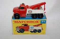 Vintage Matchbox Lesney Diecast car 71 Ford by RememberWhenToys, $54.00
