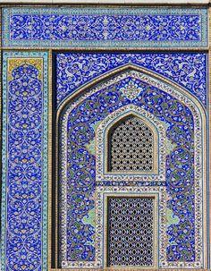 iranian tiles.
