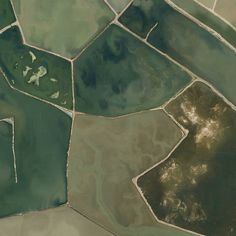 EARTH PATTERNS: Beautiful things on our planet, found on Google Maps.