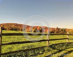 Photo about A view of a rural scene with an old farm fence in Vermont in the peak of Autumn colors. Image of split, rural, peak - 79415869 Split Rail Fence, Farm Fence, Old Farm, Vermont, Vineyard, Scene, Autumn, Stock Photos, Outdoor