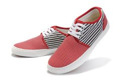 2011 New Style Converse American Flag Red White Blue Canvas Skateboard Shoes Low Top Sneaker
