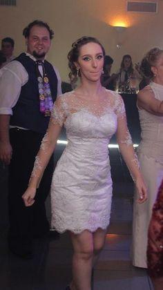 Aliexpress.com: Compre Brasil SUper lindo 2 peças saia destacável vestidos De casamento Vestido De Noiva de confiança colar de casamento fornecedores em Amanda Novias Wedding Dress Factory