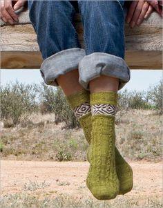 Claud Socks - Interweave