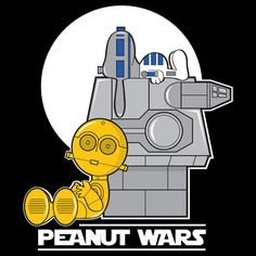 Daily Tees - Peanut Wars 1 - Star Wars - Charlie Brown