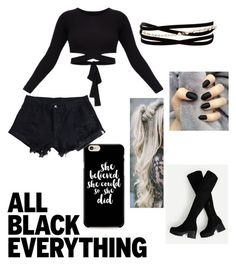 """""""Untitled #35"""" by btszsofi on Polyvore featuring Kenneth Jay Lane, Caso and WithChic"""