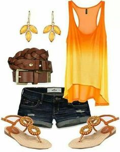 47 trendy ideas for moda verano casual outfits sandals Fashion Mode, Cute Fashion, Look Fashion, Fashion Outfits, Womens Fashion, Fashion Clothes, Fashion Wear, Ladies Fashion, Fashion Styles