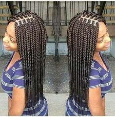 La tresse est une coiffure, elle peut se faire avec l'ensemble des cheveux en une seule tresse centrale en arrière du crâne, sur une ch...