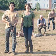 My two favorite characters! Minus Daryl
