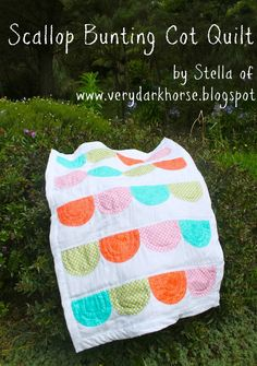 Moda Bake Shop: Scallop Bunting Cot Quilt