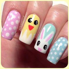 39 Rocking Easter Nail Art Designs #naildesignideaz #naildesign #easternailart #nailart #happyeasterday ♥ If you enjoyed my pin, pls visit us at http://naildesignideaz.com/ ♥