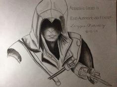 My Ezio Auditore drawing