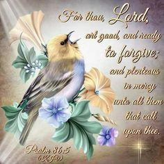 Psalm 86:5 KJV