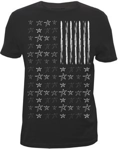 """Stripes and Stars"" - Graphic Tshirt - Designed for Bluenotes"