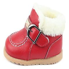 Boys Shoes Snow Boots Flat Heel Boots with Hook & Loop More Colors available – <3 the tan ones.