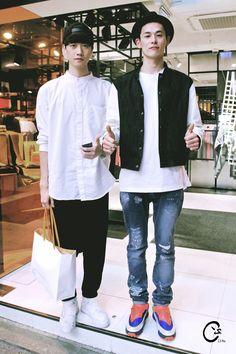 cspho: Street Fashion Style by C.S Pho 140430 - SEOUL