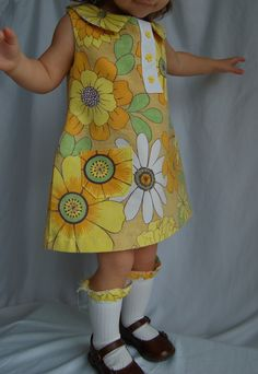 Double Stitching: Mod 60s A-line Dress Tutorial