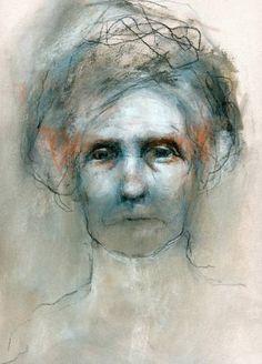 "Saatchi Art Artist Gillian Lee Smith; Drawing, ""Megan"" #art"