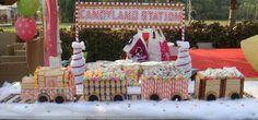 Decoración de Fiestas de Cumpleaños de Trenes   Decoraciones Para Fiestas