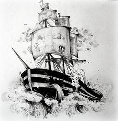 Sinking Ship by Samantha Miller