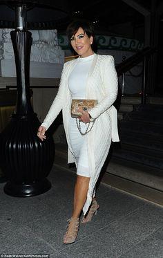 Kopykat?Kris Jenner has taken some serious style tips from her daughter Kim Kardashian as she hit Paris on Thursday night