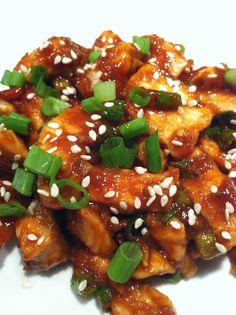 Healthy General Tso's Chicken