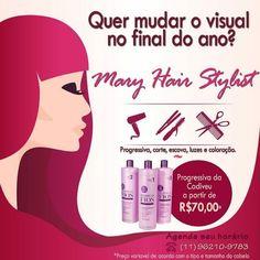 Anúncio de final de ano para Mary Hair Stylist