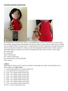 Crochet Dolls Free Patterns, Crochet Toys, Document Sharing, Chrochet, Amigurumi Doll, Dream Catcher, Doll Clothes, Handmade, Diy