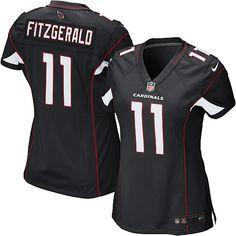 Nike Larry Fitzgerald Elite Black Alternate Women s Jersey - NFL Arizona  Cardinals  11 413222d23