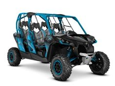 2016 Can-Am® Maverick Max X ds 1000R Black & Octane Blue