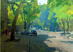 """Pushkin Street"" Konstantin Lomykin"