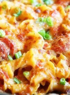 Spicy Sausage Pasta - Joybx