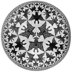 Circle Limit - Wood Engravings by M.C. Escher