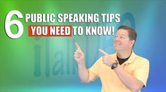 6 Public Speaking Tips that Work, presented by TEDx Speaker Dale Obrochta. Entertainer, Speaker and all around nice guy... or at least that what his wife says. ;0)