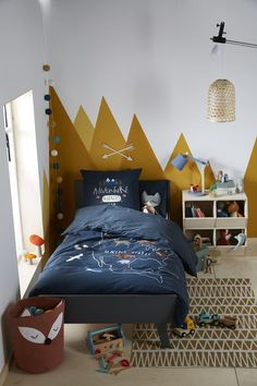 home decor yellow and grey living room Yellow Kids Rooms, Grey And Yellow Living Room, Yellow Gray Bedroom, Toddler Boy Room Decor, Boys Room Decor, Rooms Home Decor, Yellow Home Decor, Grey Home Decor, Kid Beds