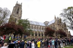 Tour de Yorkshire stage 2 crowds wait to see the racers
