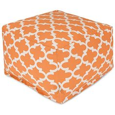 Majestic Home Goods Trellis Ottoman Large Peach * This is an Amazon Associate's Pin. Item can be found on Amazon website by clicking the VISIT button.