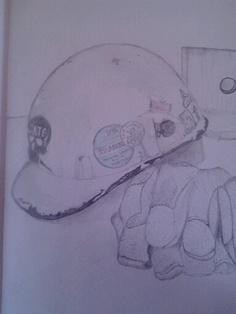 A sketch I did for the Sketchbook project.