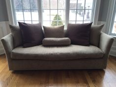Down Filled Sofa from ABC Home in Excellent Neutral Color