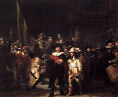 Rembrant: The Night Watch; now in Germany